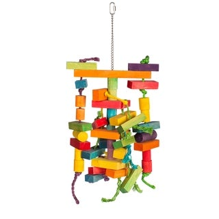 Prevue Pet Products 60947 Bodacious Bites Building Maze Bird Toy