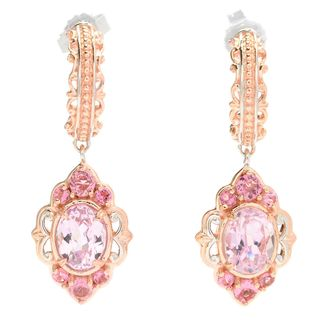 Michael Valitutti Kunzite with Pink Tourmaline Earrings
