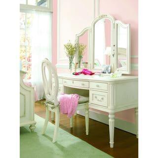 Gabriella Lace Finish Vanity Desk