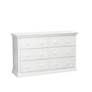 Munire Greenwich White 6-drawer Double Dresser