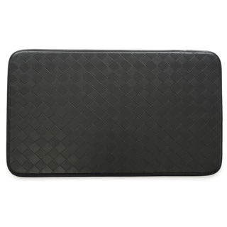 Link to Stephan Roberts Faux Leather Anti-fatigue Kitchen Mat (30 inches x 18 inches) Similar Items in Casual Rugs