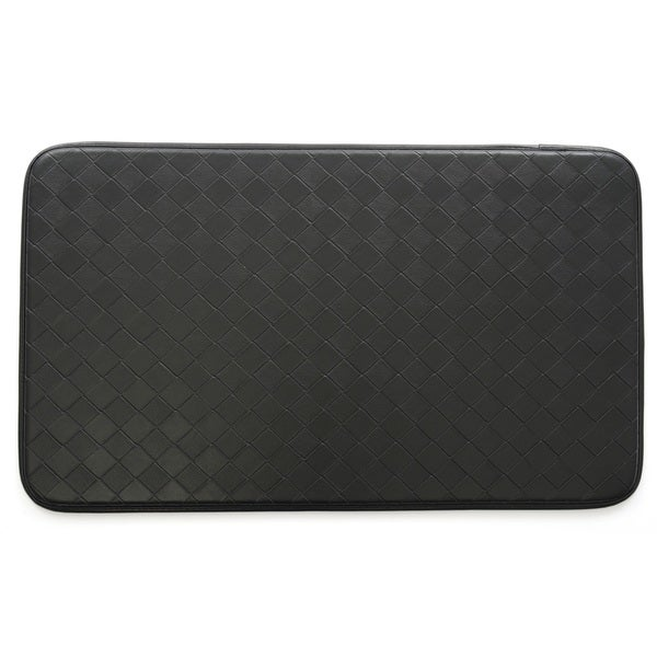 Stephan Roberts Faux Leather Anti-fatigue Kitchen Mat (30 inches x 18 inches). Opens flyout.