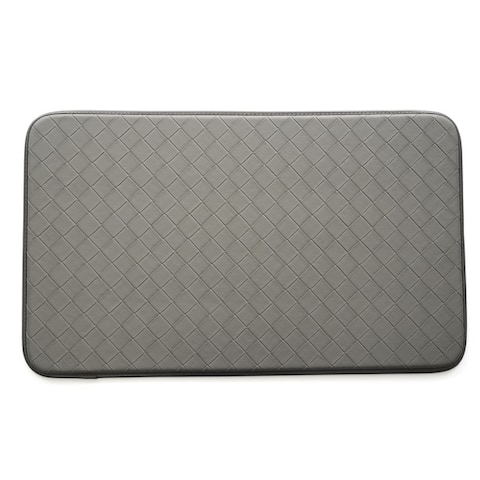 Stephan Roberts Faux Leather Anti-fatigue Kitchen Mat (30 inches x 18 inches)