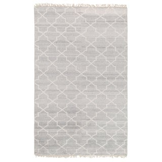 Kosas Home Hand Knotted Torrance Viscose and Wool Rug (5'x8')