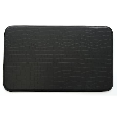 Stephan Roberts Faux Croc Leather Anti-fatigue Kitchen Mat