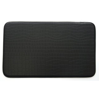 Stephan Roberts Faux Croc Leather Anti-fatigue Kitchen Mat (30 x 18)