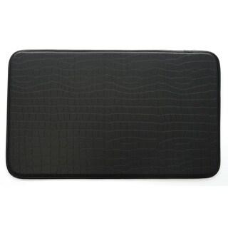Stephan Roberts Faux Croc Leather Anti-fatigue Kitchen Mat - 30 x 18