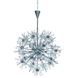 Maxim Starfire-Single-Tier Chandelier
