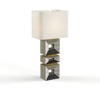Palladium Silver Table Lamp