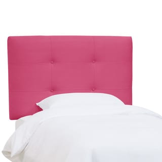 Skyline Furniture Kids Tufted Headboard in Premier Hot Pink