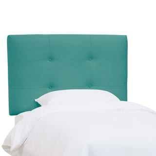 Skyline Furniture Kids Tufted Headboard in Premier Azure