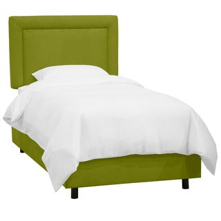 Skyline Furniture Kids Border Bed in Premier Kiwi