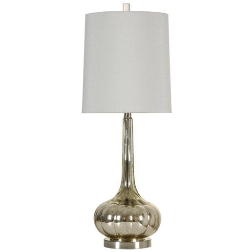 Silver Mercury Table Lamp