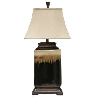 Ceramic Glazed Finish Table Lamp