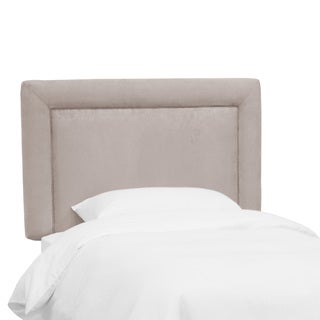 Skyline Furniture Kids Border Headboard in Premier Platinum