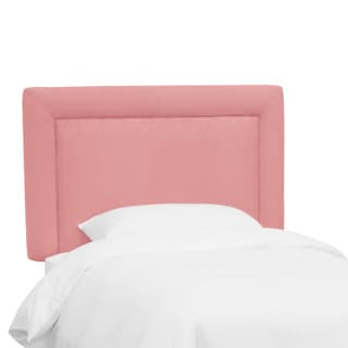 Skyline Furniture Kids Border Headboard in Premier Light Pink