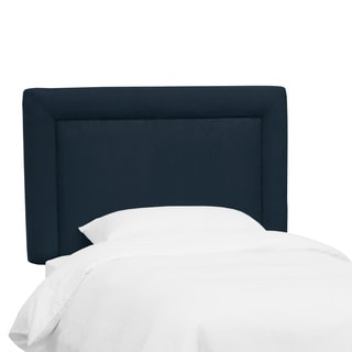 Skyline Furniture Kids Border Headboard in Premier Navy
