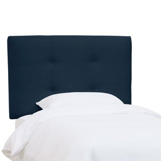 Skyline Furniture Kids Tufted Headboard in Premier Navy