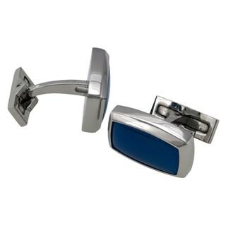 S.T. Dupont Boutons de Manchette Blue Agate Cufflinks