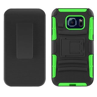 Insten Hard PC/ Silicone Dual Layer Hybrid Case Cover with Stand/ Holster For Samsung Galaxy S7