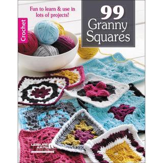 Leisure Arts - 99 Granny Squares