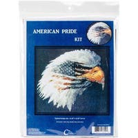 American Pride Counted Cross Stitch Kit - 13 x14.25  14 Count