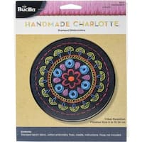 Tribal Medallion Stamped Embroidery Kit - 6  Round