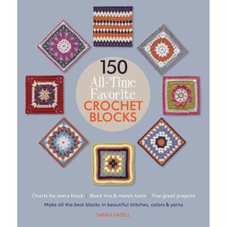 St. Martin's Books - 150 All-Time Favorite Crochet Blocks