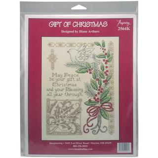 Gift Of Christmas Counted Cross Stitch Kit - 7.25 X10 14 Count