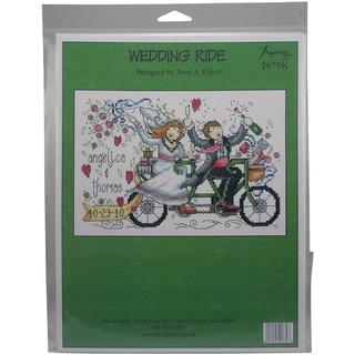 Wedding Ride Wedding Record Counted Cross Stitch Kit - 8.75 X5.75 14 Count