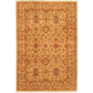 Ecarpetgallery Hand-knotted Chobi Finest Beige Wool Rug (5'10 x 8'10)