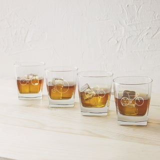 10.5 ounce. Bicycle Rocks Glasses