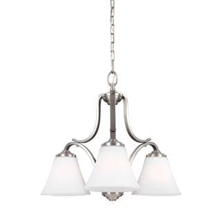 Feiss Hamlet 4 Lights Satin Nickel Pendant