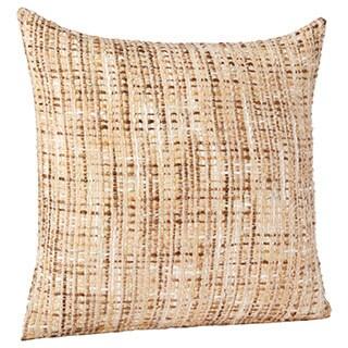 Bubble Weave Mohair Throw Pillow