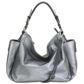 Hobo Pebble Leather Shoulder Bag
