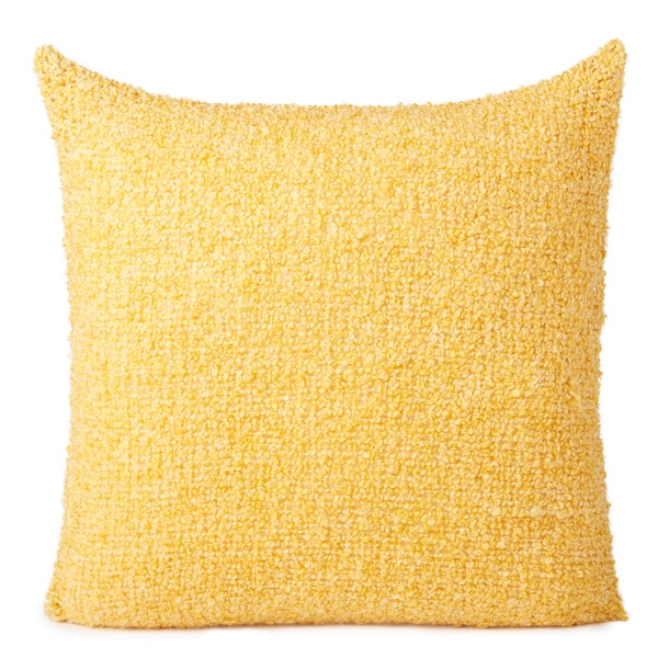 Shop Acrylic Boucle Throw Pillow Free Shipping On Orders