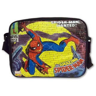 Marvel Comics Close Up Spider-Man Messenger Bag