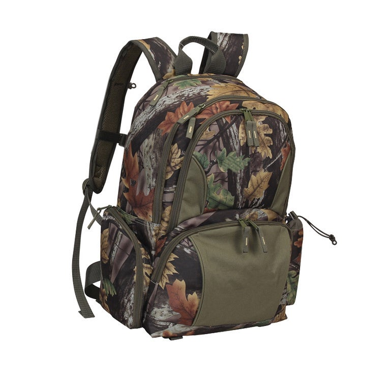 GOOD HOPE BAGS Camo 15-inch Laptop and Tablet Backpack (c...