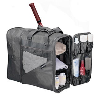 Goodhope Grey Expandable Gym Fitness Work Out Duffel