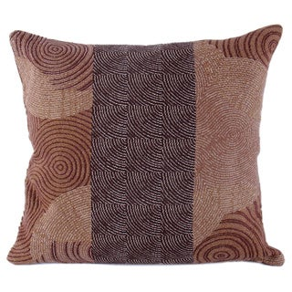 Contemporary Circles 16 inch Throw Pillow