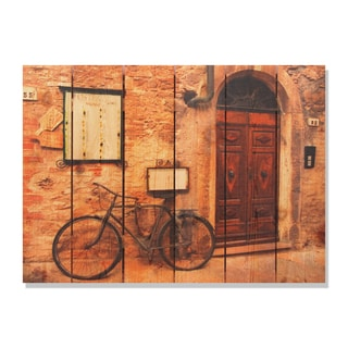 Italiano Osteria 33x24 Indoor/ Outdoor Full Color Cedar Wall Art