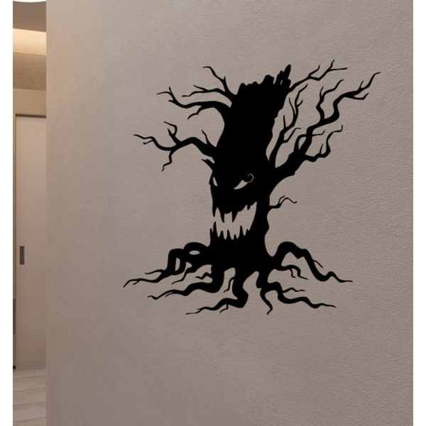 Shop Evil Tree Wall Art Sticker Decal Free Shipping On