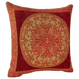 Medallion Chenille Throw Pillow