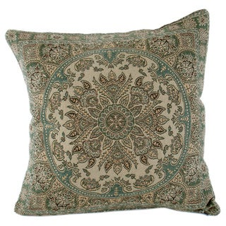 Wool Paisley Design Throw Pillow
