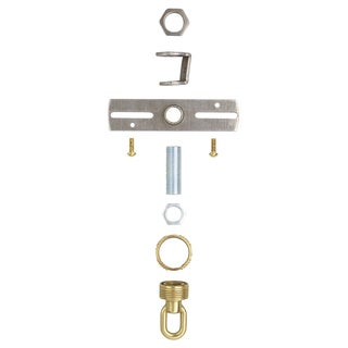 Westinghouse 7035200 Antique Brass Finish Screw Collar Loop Kit