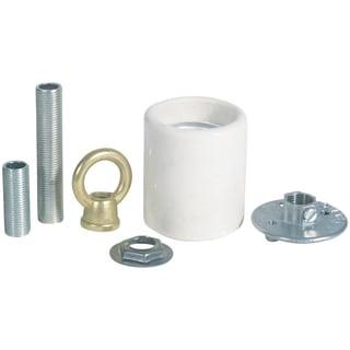 Westinghouse 7040800 Porcelain Keyless Socket Adaptor Kit