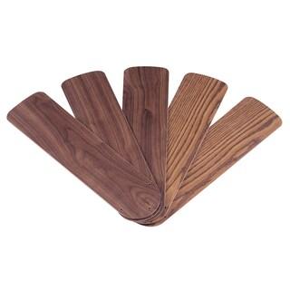 """Westinghouse 7741000 42"""" Oak & Walnut Reversible Fan Blades 5-count"""