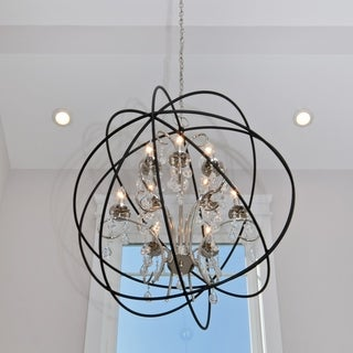 Maxim Orbit Single 9-light Pendant