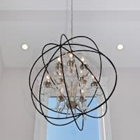 Maxim Orbit Single 9-light Pendant