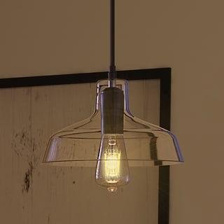 Vonn Lighting Delphinus Pendant Light Adjustable Hanging Industrial Pendant Lighting with Filament Bulb in Architectural Bronze